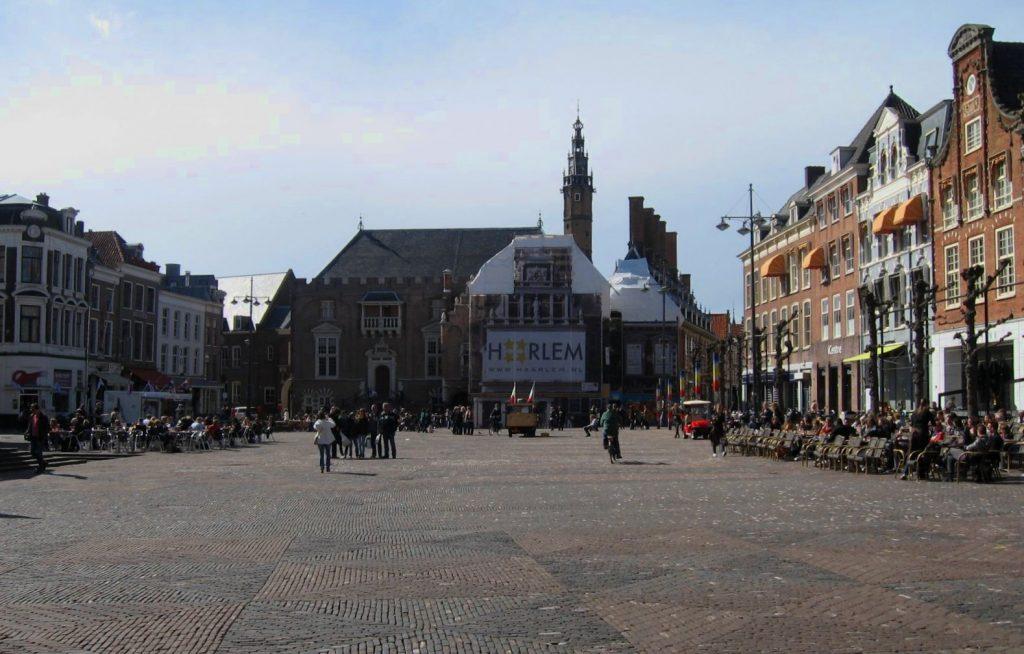 La grande place d'Haarlem